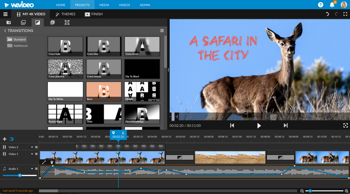WeVideo | WeVideo Puts Stunning 4K Ultra HD Video Editing in the
