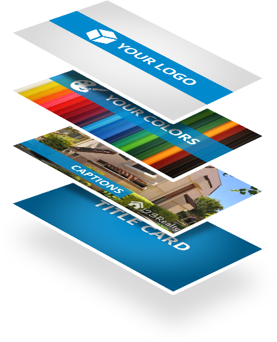 WeVideo provides brand control and professional quality video exports